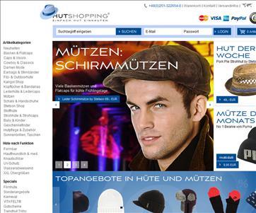 Hutshopping.de Online Hutshop