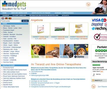 Medpets Tierapotheke Online