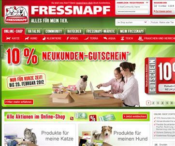 Fressnapf-Online-Shop